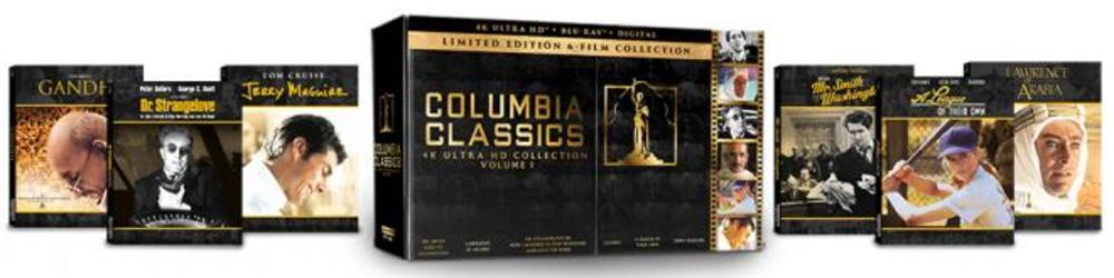 Columbia Classics Volume 1 - 4K Ultra HD Blu-ray Review