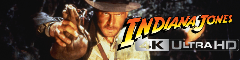 Indiana Jones 4-Film Collection 4K UHD Blu-ray Coming June 8th