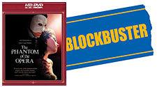 Phantom of the Opera HD-DVD / Blockbuster Logo