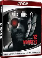 12 Monkeys [HD DVD Box Art]