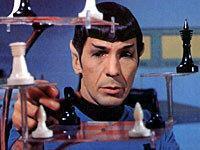 Star Trek [Spock Playing Chess]