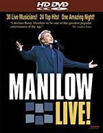 Barry Manilow Live! [HD DVD Box Art]