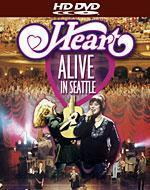 Heart: Alive in Seattle [HD DVD Box Art]