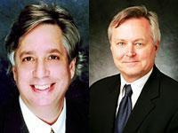 Sony President Benjamin Feingold, David Bishop