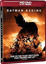Batman Begins [HD DVD Box Art]