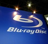 blu-ray logo wall