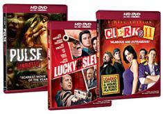 Weinstein/Genius January HD DVD Box Art Tryptych