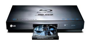 LG BH-100 Multi Blue Blu-ray/HD DVD Player
