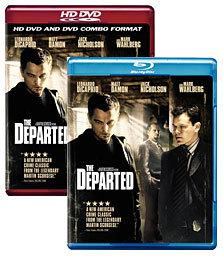 The Departed [Blu-ray, HD DVD Box Art]