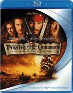 Pirates of the Caribbean: The Curse of the Black Pearl [Blu-ray Box Art]