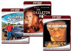 Hurricane, Skeleton Key, Smokey & the Bandit [HD DVD Box Art]
