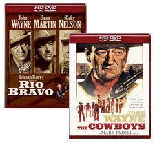 Rio Bravo, The Cowboys [HD DVD Box Art]