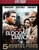 Blood Diamond [HD DVD Box Art]