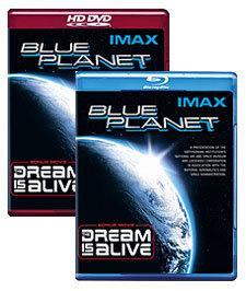 IMAX: Blue Planet [Blu-ray, HD DVD Box Art]