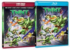 TMNT [Blu-ray, HD DVD Box Art]