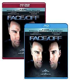 Face/Off [Blu-ray, HD DVD Box Art]