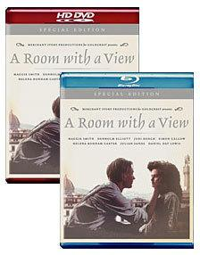 A Room with a View [Blu-ray, HD DVD Box Art]