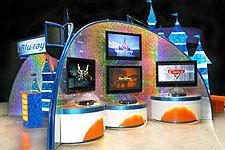 Disney Blu-ray Roadshow Display
