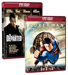 The Departed, Superman Returns [HD DVD Box Art]