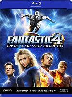 Fantastic Four: The Rise of the Silver Surfer [Blu-ray Box Art]