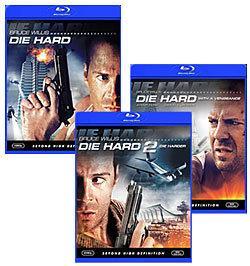 Die Hard, Die Hard 2, Die Hard with a Vengeance [Blu-ray Box Art]