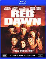 Red Dawn [Blu-ray Box Art]