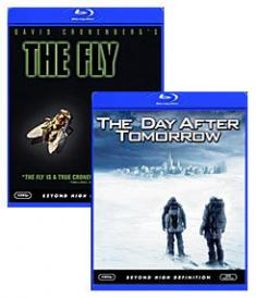 The Day After Tomorrow, The Fly (1986) [Blu-ray Box Art]