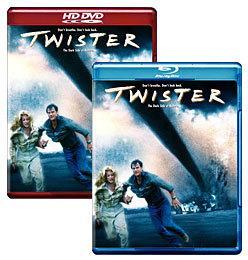 Twister [Blu-ray, HD DVD Box Art]