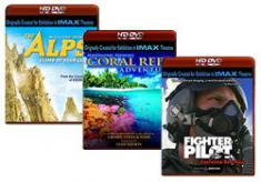 The Alps, Coral Reef Adventure, Fighter Pilot [HD DVD Box Art]