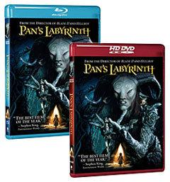 Pan's Labyrinth [Blu-ray, HD DVD Box Art]