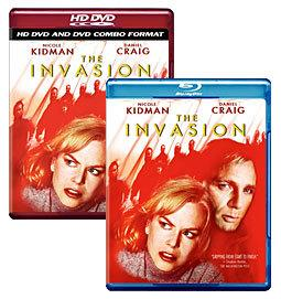 The Invasion [Blu-ray, HD DVD/DVD Combo Box Art]