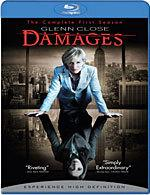 Damages: The Complete First Season [Blu-ray Box Art]