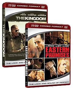 The Kingdom (2007), Eastern Promises [HD DVD Box Art]
