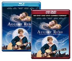August Rush [Blu-ray, HD DVD/DVD Combo Box Art]