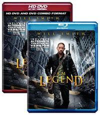 I Am Legend [Blu-ray, HD DVD Box Art]