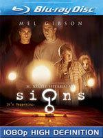 Signs [Blu-ray Box Art]