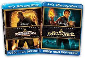 National Treasure/National Treasure: Book of Secrets [Blu-ray Box Art]