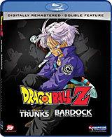 Dragon Ball Z: The History of Trunk/Bardock: Father of Goku [Blu-ray Box Art]