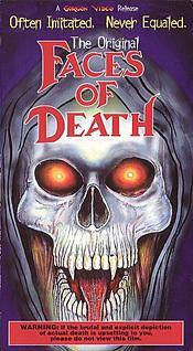 Faces of Death [DVD Box Art]