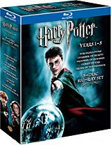 Harry Potter Years 1-5 (Giftset) [Blu-ray Box Art]