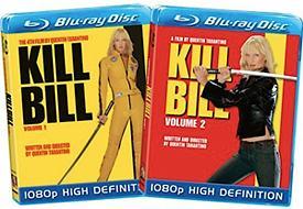 Kill Bill: Vol. 1 & Vol. 2 [Blu-ray Box Art]