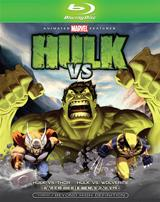 Hulk Vs. [Blu-ray Box Art]