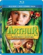 Arthur And The Invisibles 2 3 Blu Ray Disc Details High Def Digest