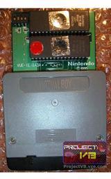 Prototype Virtual Boy 'Faceball' cartridge