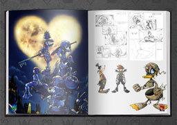 Kingdom Hearts HD 1.5 ReMIX Limited Edition Artbook