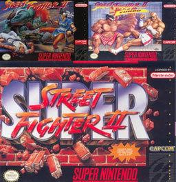 Street Fighter II on the SNES