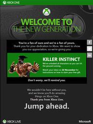 Killer Instinct Offer