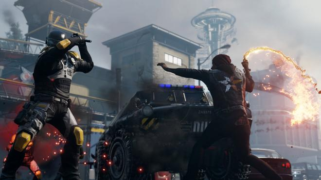 Infamous Second Son melee attack