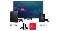 Dish PS3 PS4 PlayStation