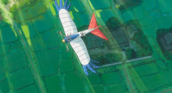 'The Wind Rises' Young Jiro flies in his dreams